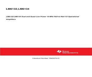 LM6132AIMX/NOPB.pdf