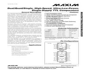 MAX907ESA+T.pdf