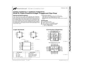74AC74SCQR.pdf
