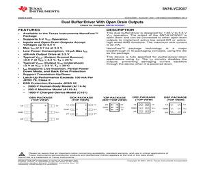 SN74LVC2G07DBVRE4.pdf