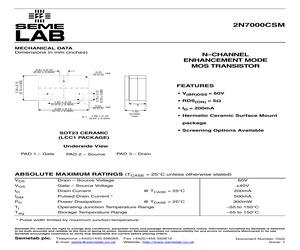 2N7000CSM.pdf