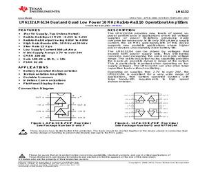 LM6132BIMX/NOPB.pdf