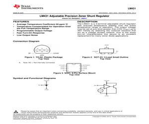 LM431CCM3X/NOPB.pdf